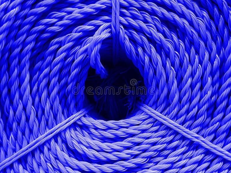 Farbnylonseilbeschaffenheit lizenzfreies stockfoto