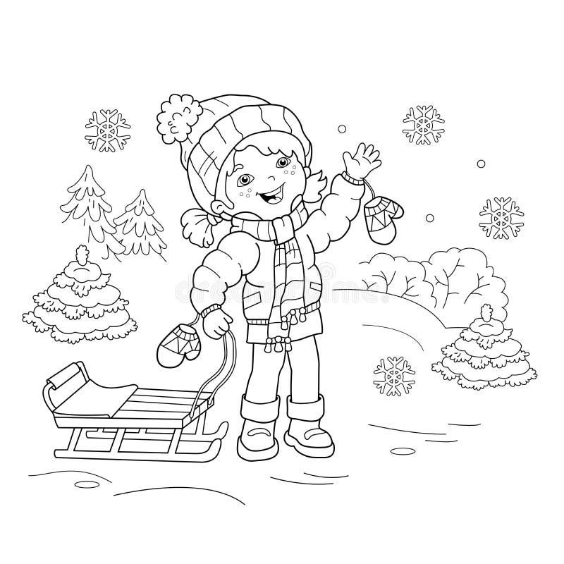 Charmant Winter Malbuch Seiten Zeitgenössisch - Ideen färben ...