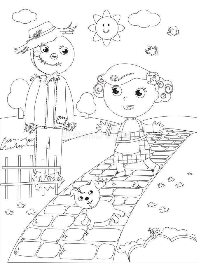 Fein Zauberer Von Oz Färbung Seite Fotos - Ideen färben - blsbooks.com