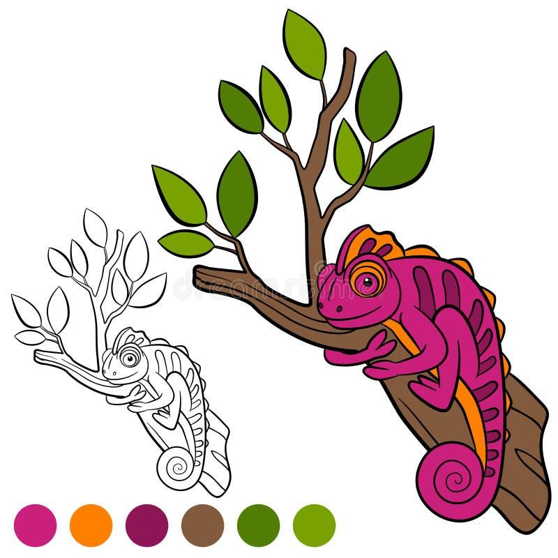 Ausgezeichnet Chamäleon Färbung Seite Ideen - Dokumentationsvorlage ...