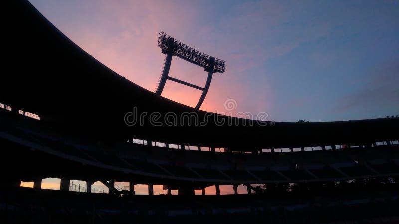 Farbvoller Himmel lizenzfreie stockfotos
