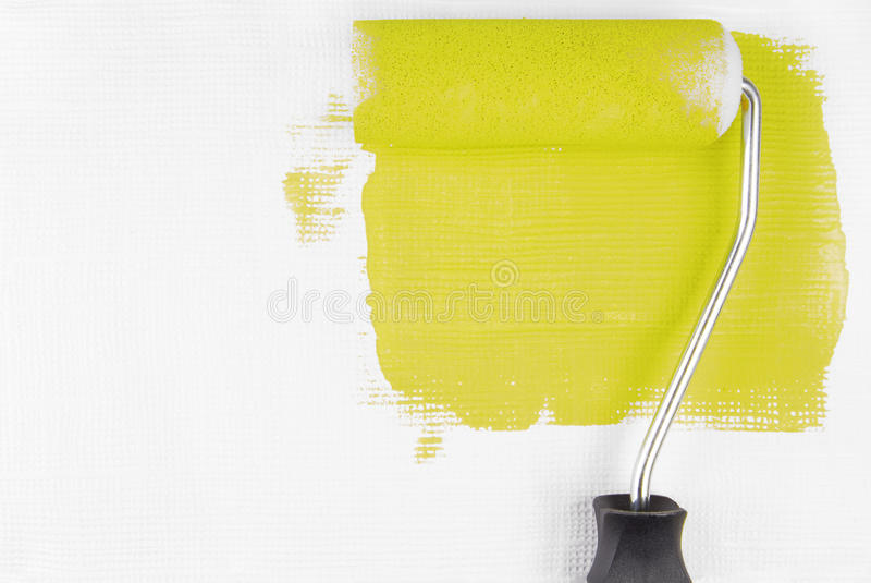 Farby ściana zdjęcia stock