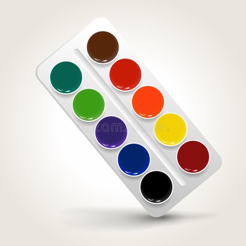 farby ilustracja wektor