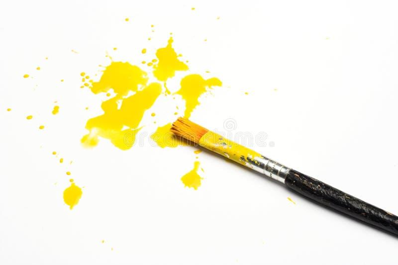 farby kolor żółty obrazy royalty free