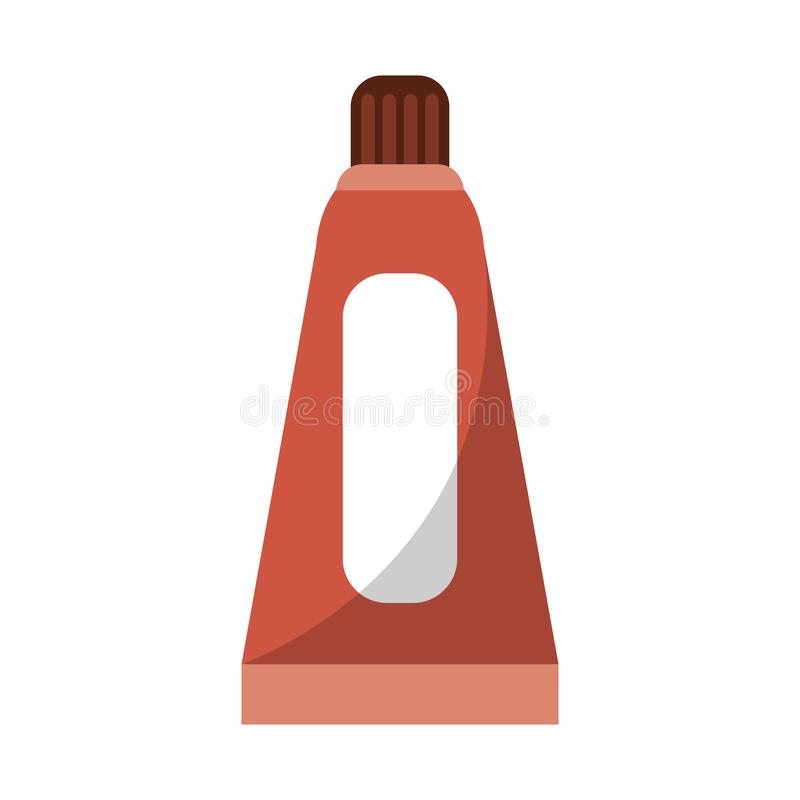 Farby nafcianej butelki symbol ilustracji
