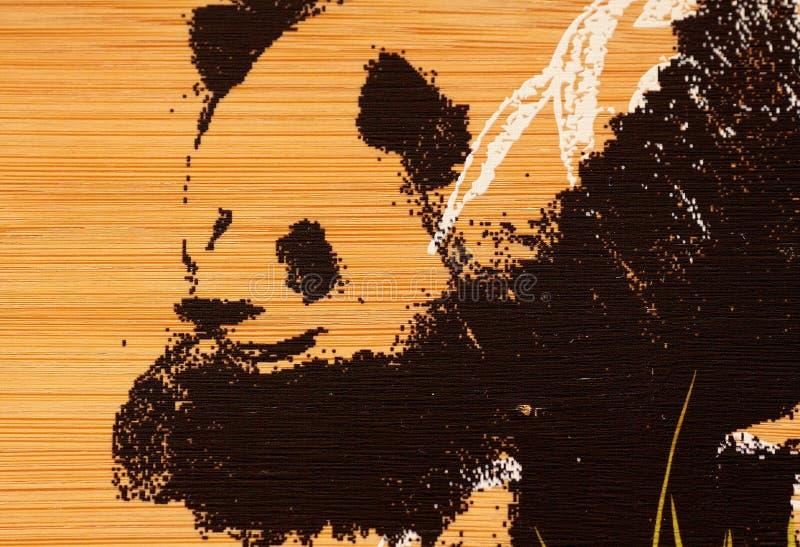 farby panda obraz royalty free