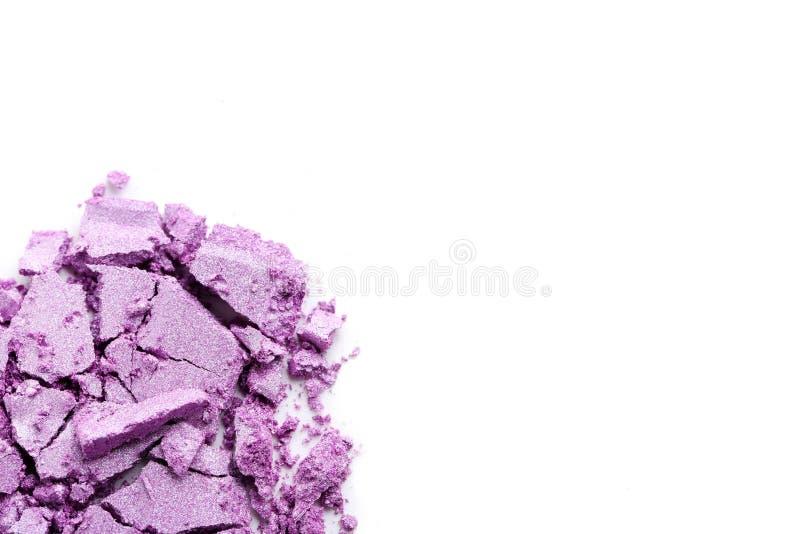 Fard à paupières de maquillage photo stock