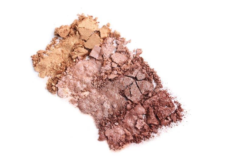 Fard à paupières de maquillage photographie stock