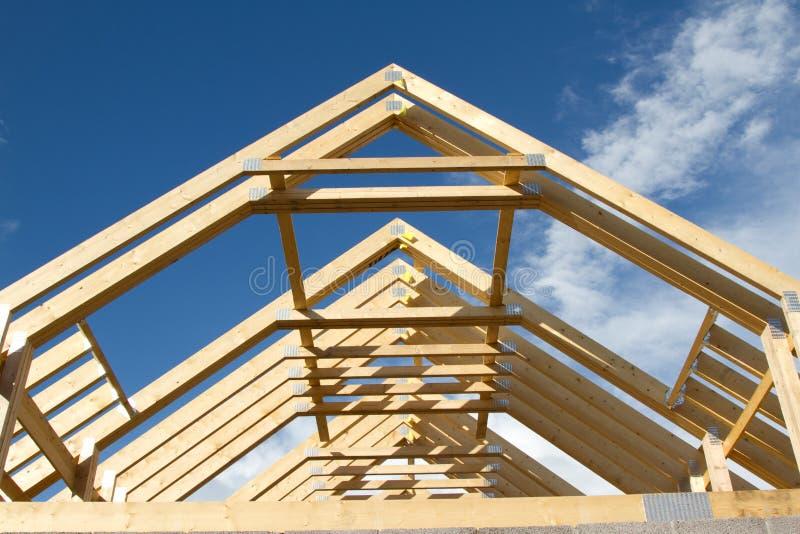 Fardos do telhado. imagens de stock