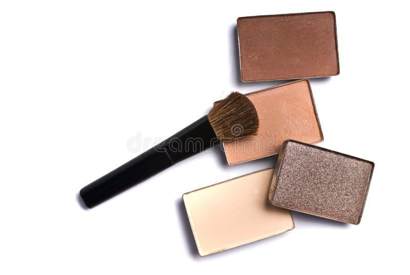 Fards à paupières de maquillage photographie stock