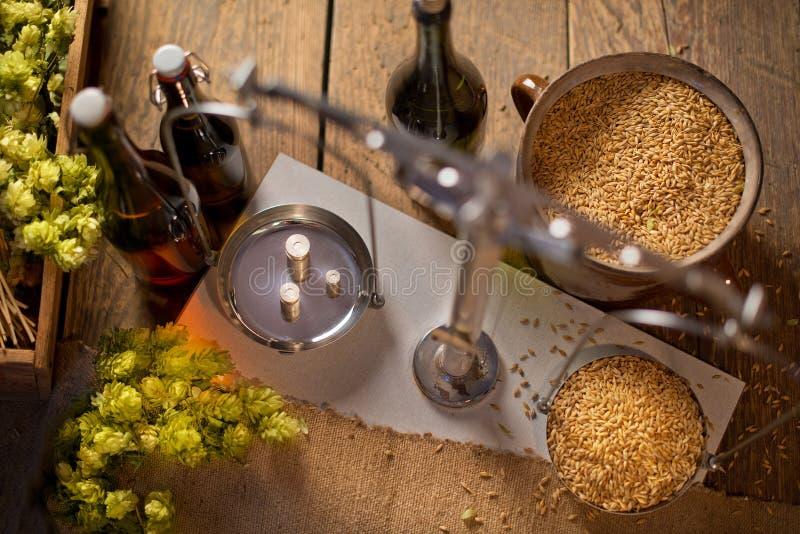 Fare domestico della birra immagine stock
