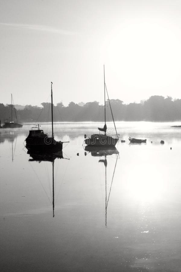 Fareham creek royalty free stock photography
