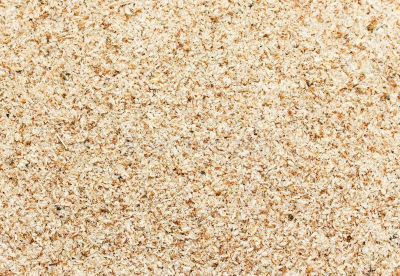 Farelo de trigo como um fundo fotos de stock royalty free
