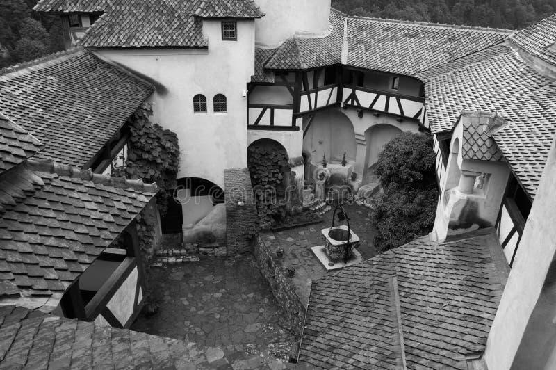 Farelo do castelo, Romania imagem de stock royalty free