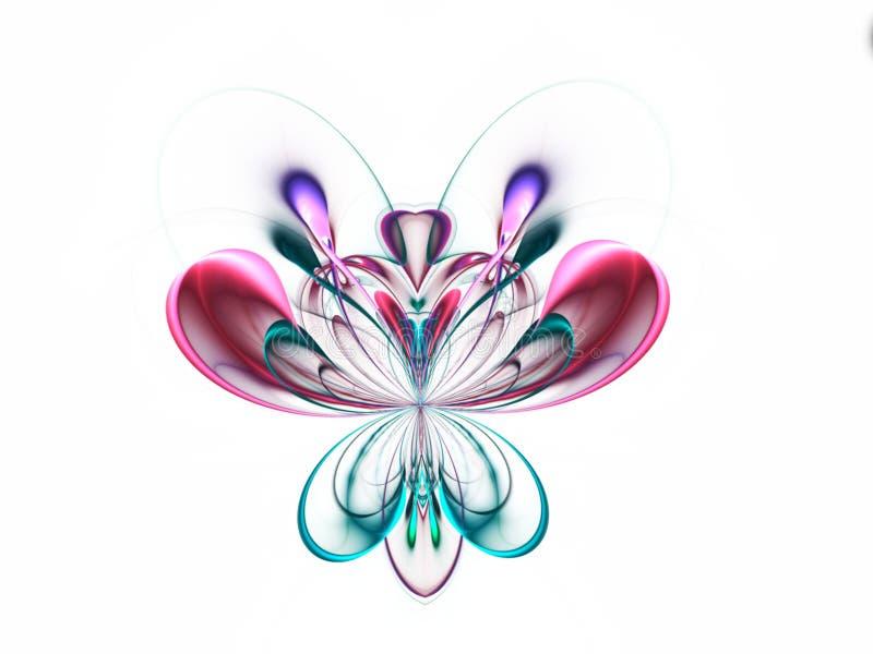Farfalla astratta di frattale immagini stock libere da diritti