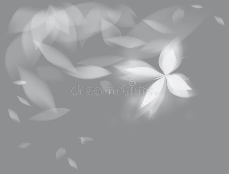 Farfalla brillante illustrazione di stock