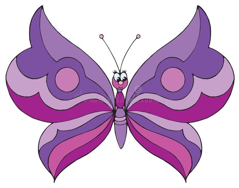 Farfalla (clip-arte di vettore) illustrazione di stock