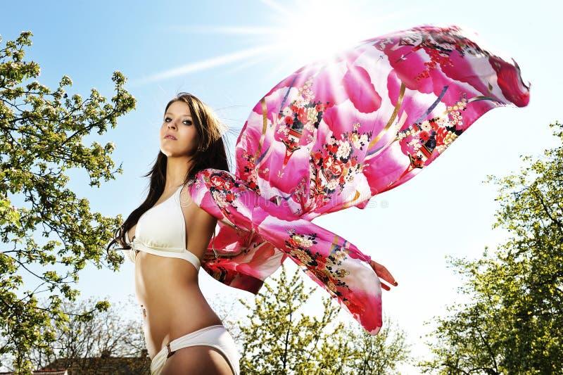 Farfalla del bikini fotografie stock libere da diritti