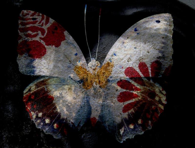 Farfalla di lerciume royalty illustrazione gratis