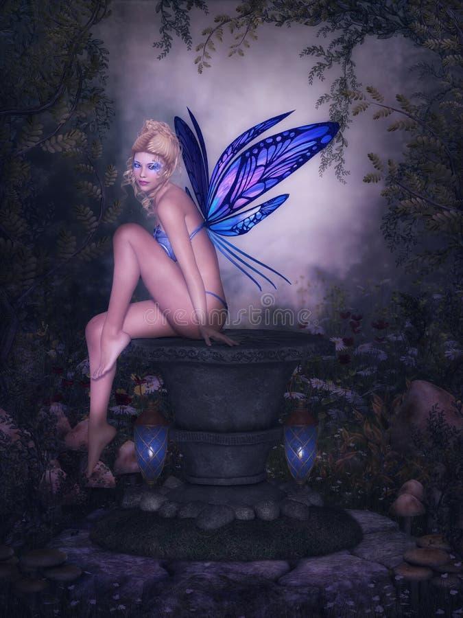 Farfalla leggiadramente illustrazione di stock