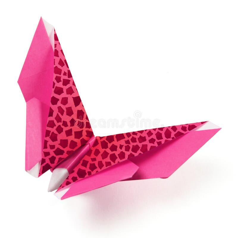 Farfalla di Origami immagini stock libere da diritti