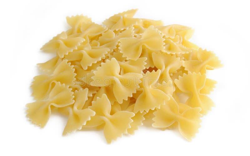 Farfalle pasta stock photos