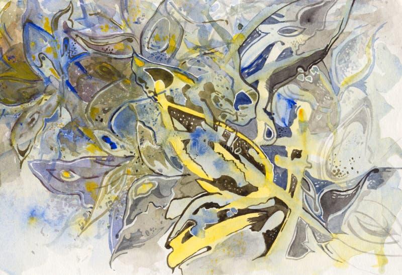 Farfalle Semi-Abstract illustrazione vettoriale