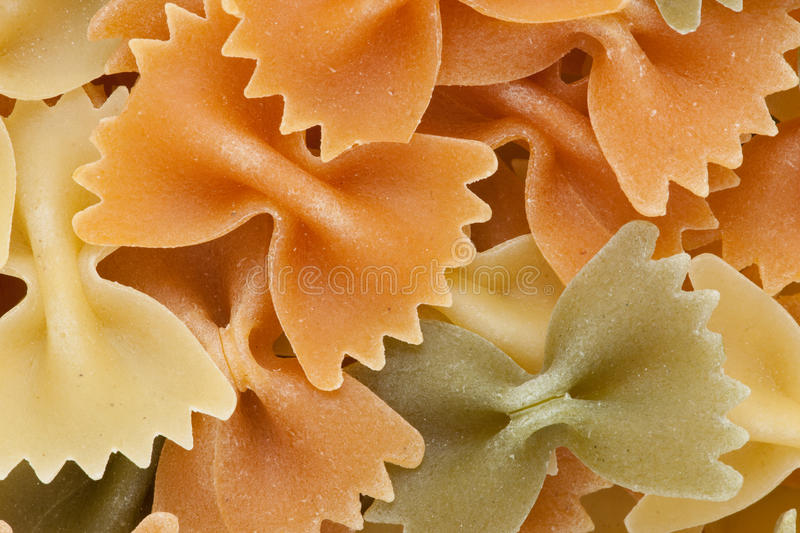 Download Farfalle  Tricolore Pasta Background Royalty Free Stock Photo - Image: 11581815