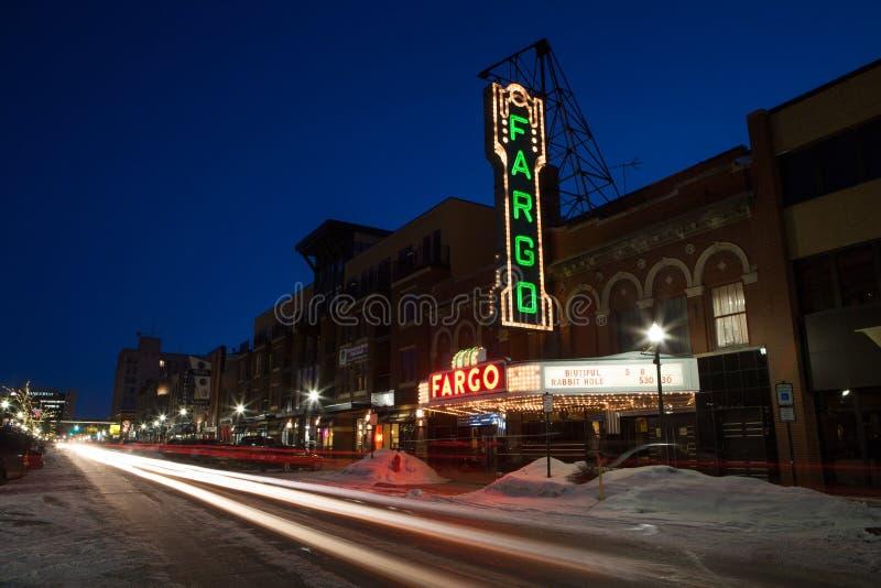 Fargo Theater immagini stock libere da diritti