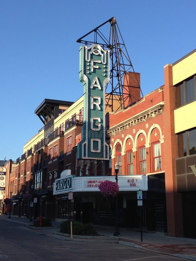 Fargo Theatre stock foto
