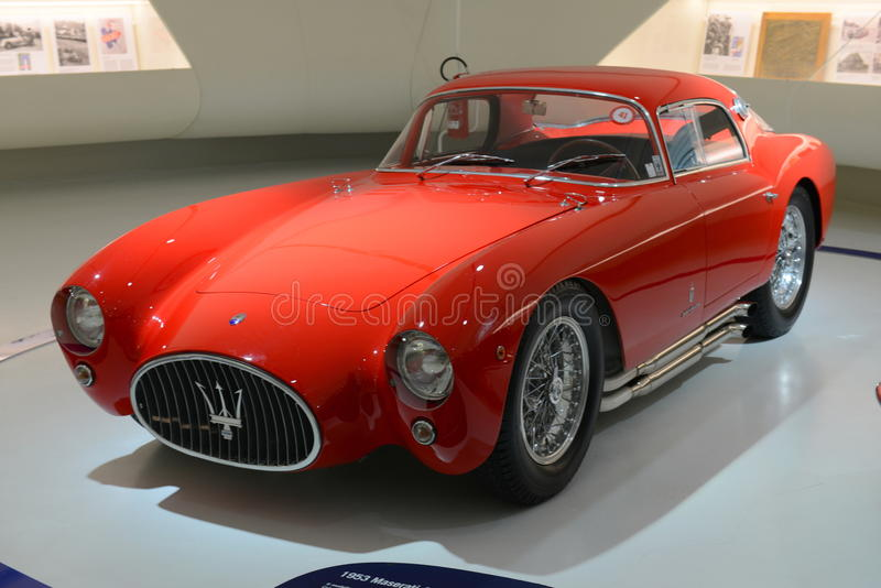 Farin Maseratis Berlinetta Pinin - Maserati-Jahrhundertausstellung stockbilder
