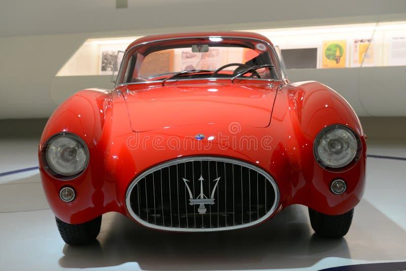Farin Maseratis Berlinetta Pinin - Maserati-Jahrhundertausstellung lizenzfreie stockbilder