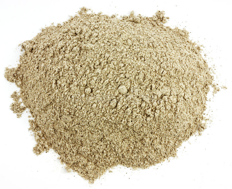 Farina del grano saraceno immagini stock libere da diritti