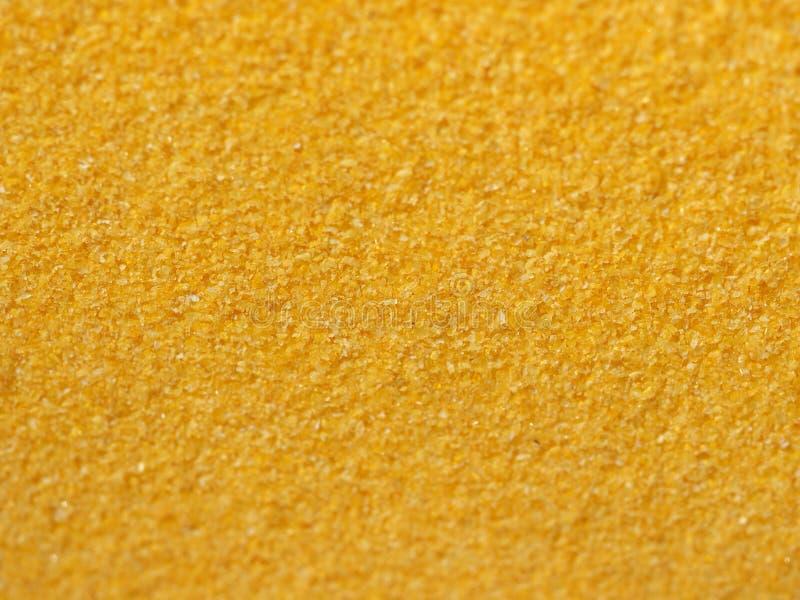 farina della farina di mais per la polenta fotografie stock libere da diritti