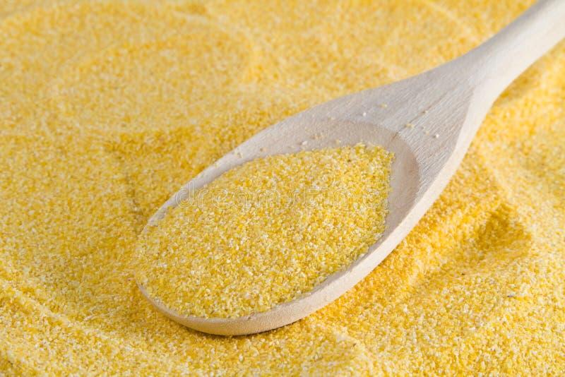 Farina della farina di mais immagine stock libera da diritti