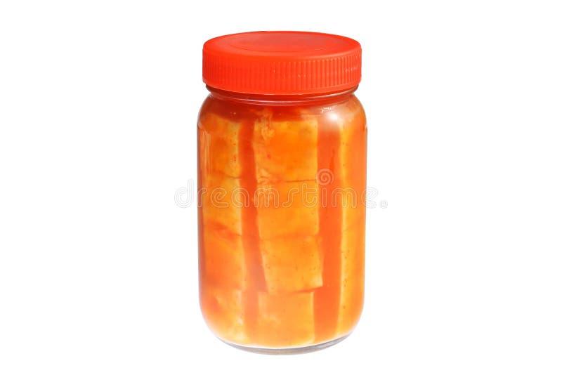 Farina di fave fermentata fotografia stock