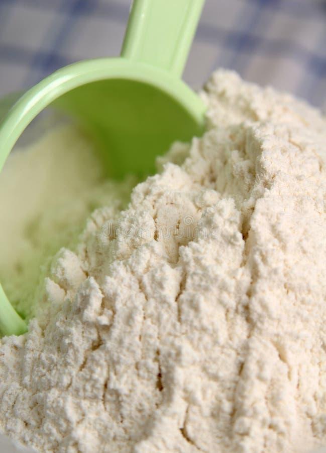 Farine - farine de maïs photo stock