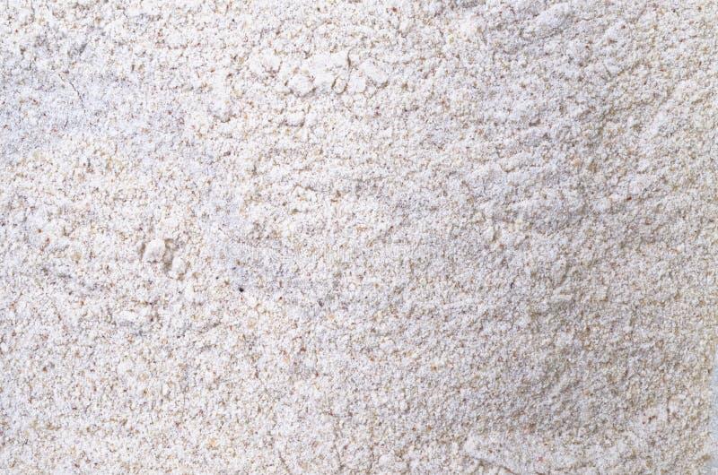 Farinha do trigo mourisco fotografia de stock