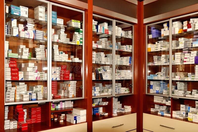 Farmácia imagem de stock royalty free