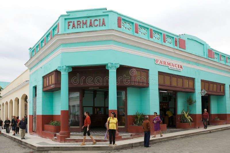 Farmácia cubana imagem de stock