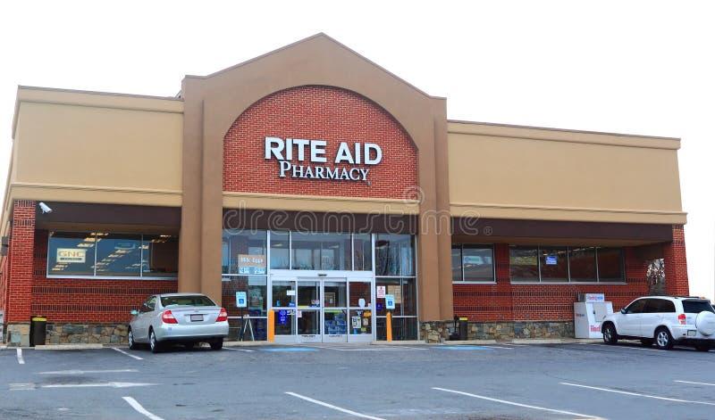 Farmácia do auxílio do rito imagens de stock