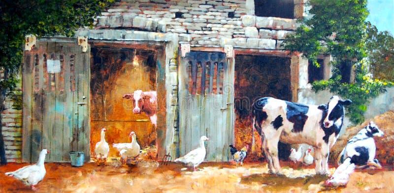 The Farm royalty free illustration