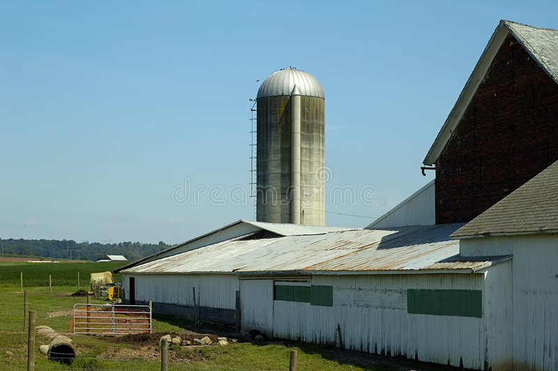 Download Farm stock image. Image of silo, poultry, corn, industry - 20925