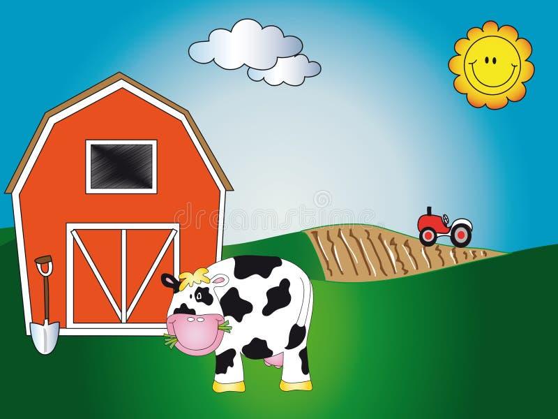 Farm animal cartoon royalty free illustration