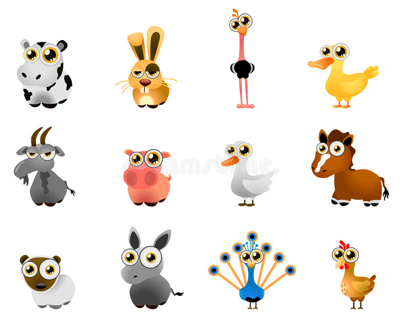 Download Farm Animal Vector Royalty Free Stock Photo - Image: 7966085