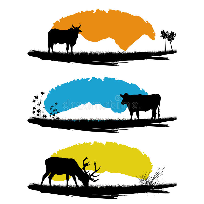 Download Farm animals stock vector. Illustration of summer, season - 15910868