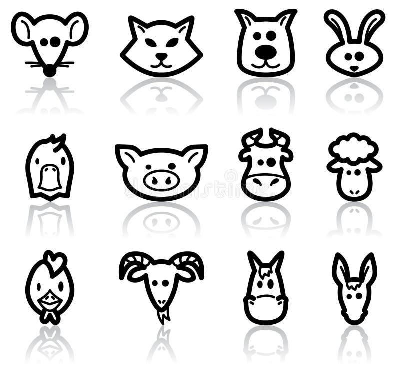 Download Farm animals stock vector. Illustration of funny, mammal - 16220867