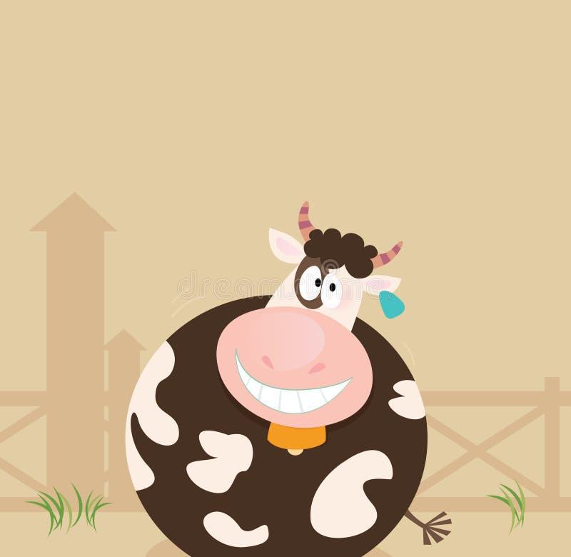Farm animals: Cow royalty free stock photos
