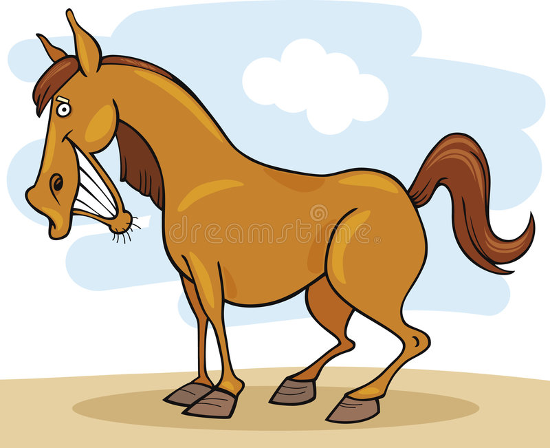 Download Farm animals: Horse stock vector. Image of illustration - 8945411