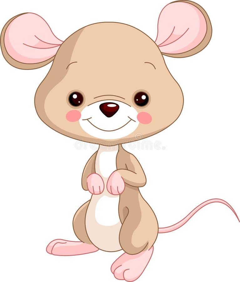 Farm animals. Mice. Farm animals. Illustration of cute Mice stock illustration